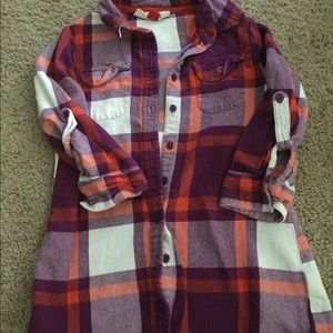 Red camel flannel